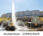 the grand cascade and samson... | Shutterstock . vector #1398419645