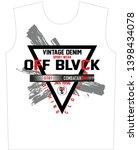 stylish trendy slogan tee t... | Shutterstock .eps vector #1398434078