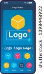 logo maker app smartphone...