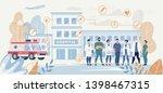 professional hospital medical... | Shutterstock .eps vector #1398467315