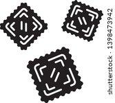 ravioli glyph icon. italian...   Shutterstock .eps vector #1398473942