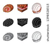 vector design of confectionery... | Shutterstock .eps vector #1398528515