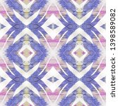 tibetan fabric. abstract... | Shutterstock . vector #1398589082