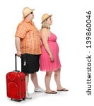 Funny Obese Couple Going To...