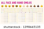 All Basic Hand And Face Emojis...