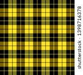 tartan plaid. scottish pattern... | Shutterstock .eps vector #1398716378