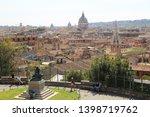 rome  italy   april 18  2019 ...   Shutterstock . vector #1398719762