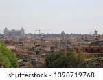 top view on old city center...   Shutterstock . vector #1398719768