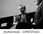 brussels  belgium. 15th may... | Shutterstock . vector #1398727622