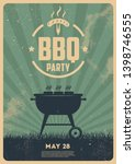 bbq time. barbecue party....   Shutterstock .eps vector #1398746555