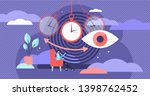Hypnosis Vector Illustration....