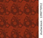 seamless background pattern... | Shutterstock . vector #1398770912