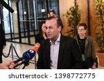 brussels  belgium. 15th may... | Shutterstock . vector #1398772775