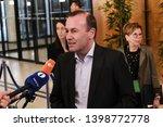 brussels  belgium. 15th may... | Shutterstock . vector #1398772778