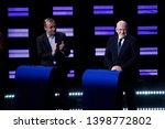 brussels  belgium. 15th may... | Shutterstock . vector #1398772802