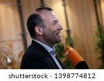 brussels  belgium. 15th may... | Shutterstock . vector #1398774812
