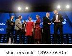 brussels  belgium. 15th may... | Shutterstock . vector #1398776705