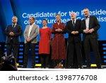 brussels  belgium. 15th may... | Shutterstock . vector #1398776708