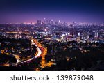 view of downtown los angeles... | Shutterstock . vector #139879048