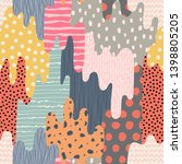 template seamless abstract...   Shutterstock .eps vector #1398805205