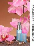 women's perfume in beautiful... | Shutterstock . vector #139884922