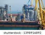industrial port  infrastructure ... | Shutterstock . vector #1398916892