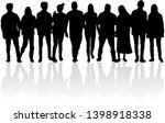 group of people. crowd of... | Shutterstock . vector #1398918338