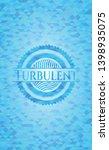 turbulent light blue mosaic... | Shutterstock .eps vector #1398935075