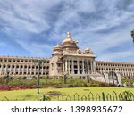 vidhana soudha which is located in the most happening city in Karnataka called Banglore. also known as Assembly of Karnataka.