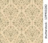 damask seamless pattern for... | Shutterstock .eps vector #139903282