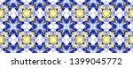 tibetan fabric. abstract batik... | Shutterstock . vector #1399045772
