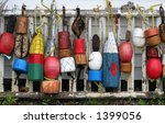 Old Wooden Buoys
