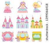 collection of cute little... | Shutterstock .eps vector #1399066418