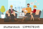 family law consultation flat... | Shutterstock .eps vector #1399078145