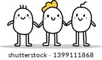 type of family two man one... | Shutterstock .eps vector #1399111868