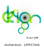 abstract design  typographic... | Shutterstock .eps vector #139917646