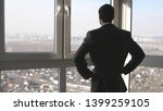 back view of young successful... | Shutterstock . vector #1399259105