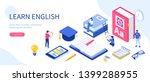 language school concept. can... | Shutterstock .eps vector #1399288955