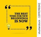 inspirational motivational... | Shutterstock . vector #1399298342