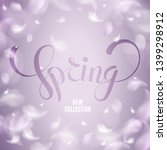 spring background with new... | Shutterstock .eps vector #1399298912