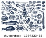 vector collection of hand drawn ... | Shutterstock .eps vector #1399323488