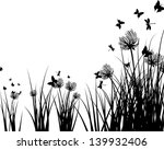 meadow background with... | Shutterstock . vector #139932406