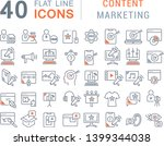 set of vector line icons of...   Shutterstock .eps vector #1399344038