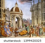 florence  italy   january 10 ... | Shutterstock . vector #1399420325