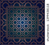 decorative geometric pattern... | Shutterstock .eps vector #1399438118