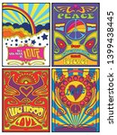 psychedelic posters  covers... | Shutterstock .eps vector #1399438445