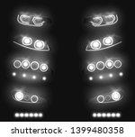 modern car front  back...   Shutterstock .eps vector #1399480358