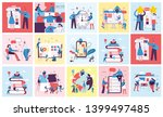 vector illustrations of the... | Shutterstock .eps vector #1399497485