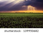 Dramatic Landscape Above The...