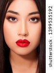 beautiful asian young woman... | Shutterstock . vector #1399535192